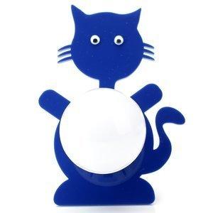 Abajur Cromalux Stickcat Azul
