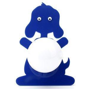 Abajur Cromalux Stickdog Azul