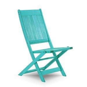 Cadeira Dobrável Acqualung sem Braços Mão e Formão Azul