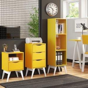Ambiente Office P251 Tutti Colors Madesa Amarelo/Rustic