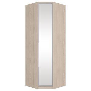 Guarda Roupa Canto Modulado com Espelho 1 Porta Diamante Henn Fendi