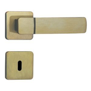 Fechadura Interna Roseta Aço 40mm MGM Capri Bronze Latonado