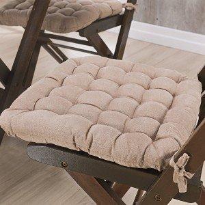 Almofada para Cadeiras Futton Kalamar Niazitex Bege
