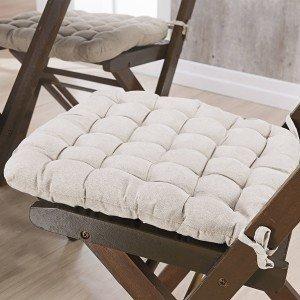 Almofada para Cadeiras Futton Kalamar Niazitex Marfim