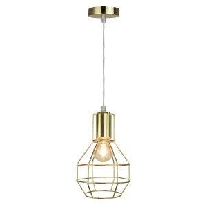 Pendente Industrial Livanto Premier Iluminação Dourado