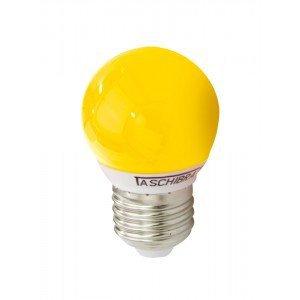Lâmpada LED Bolinha Taschibra 1W 220V Luz Amarela