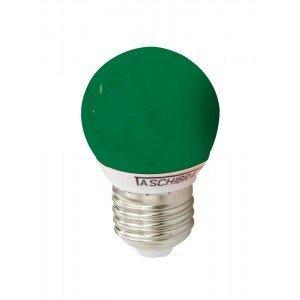 Lâmpada LED Bolinha Taschibra 1W 127V Luz Verde