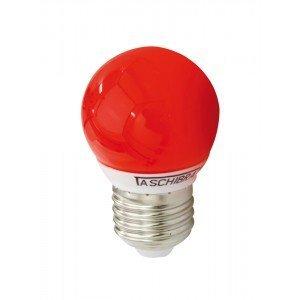 Lâmpada LED Bolinha Taschibra 1W 127V Luz Vermelho