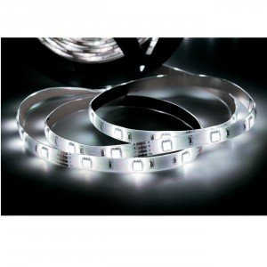 Fita LED 2,5W 30 LEDs/metro 5m Bivolt Taschibra Luz Branco