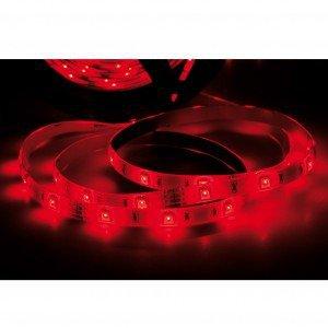 Fita LED 2,5W 30 LEDs/metro 5m Bivolt Taschibra Luz Vermelho