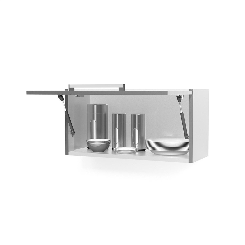 De Cozinha Aéreo Em Aço Casa Mob 1 Porta City R$ 134 30 em Mercado #474747 1500x1500