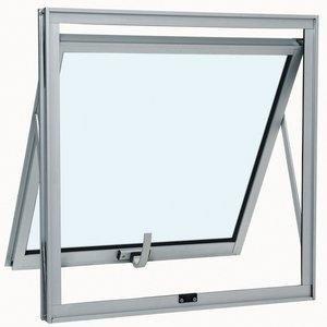 Janela Maxim Ar Alumínio sem Grade Sasazaki 40cmx60cmx4,7cm Branco